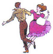 Square dance couple x Newsletter
